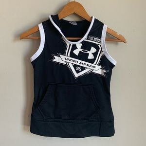 Under Armour Hoodie Tank Top size S
